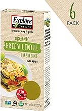 Best green lentil lasagna noodles Reviews