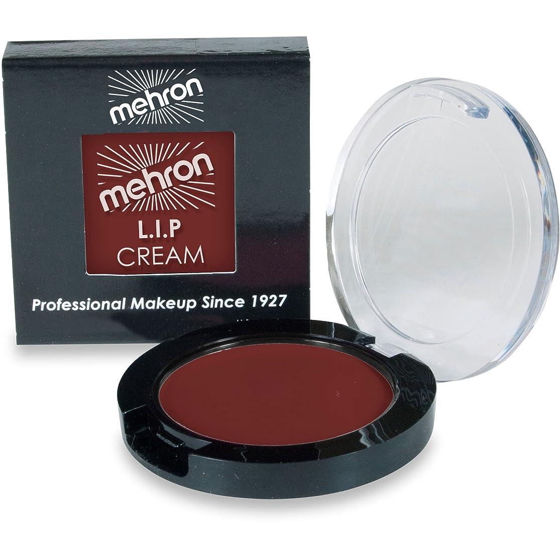 ミトン物理的に水mehron L.I.P. Color Cream - Cherry Chocolate (並行輸入品)
