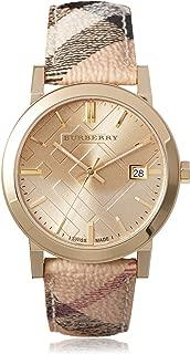 Women's BU9026 The City Haymarket Check/Champagne Stainless Steel Watch