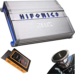 $159 » Hifonics ZG-2400.1D Zeus Gamma 1 Channel Super D Class 2400 Watt Car Audio Sound System Subwoofer Speaker Amp Amplifier wi...