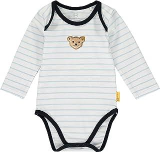 Steiff Bebisar pojkar med ränder och nallebjörn motiv formande kropp