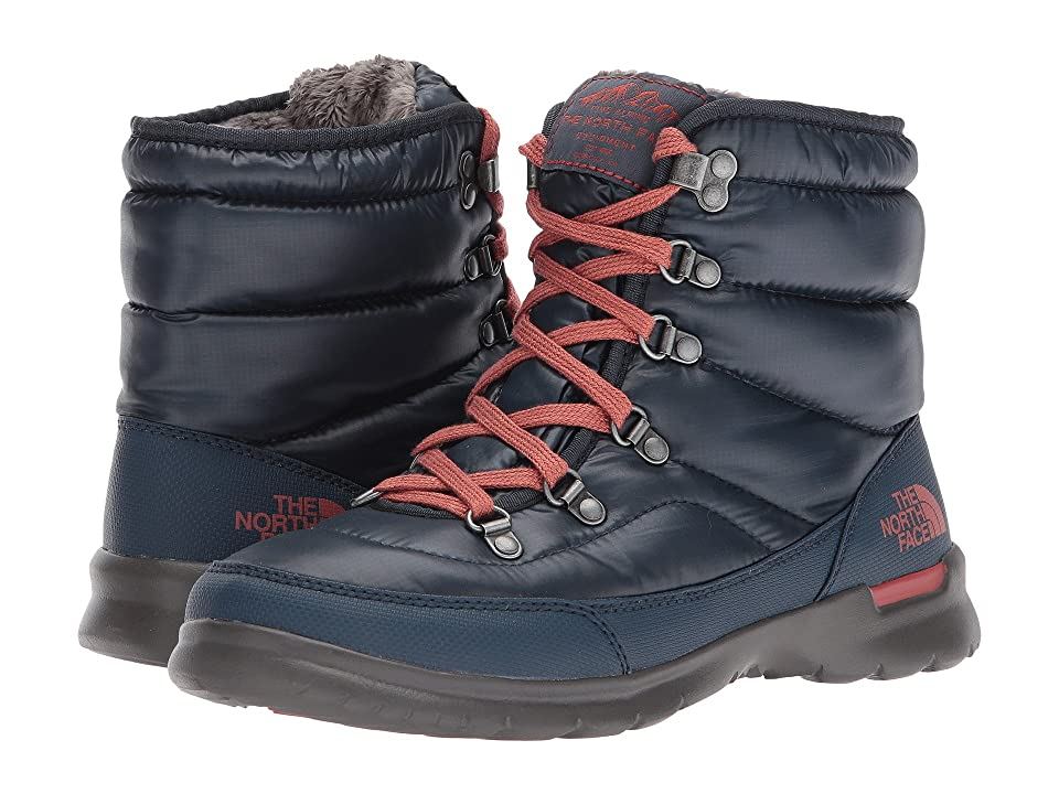 The North Face ThermoBall Lace II (Shiny Ink Blue/Etruscan Red (Past Season)) Women