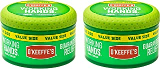 O'Keeffe's K0680001-2 Working Hands Hand Cream in Jar (2 Pack), 6.8 oz