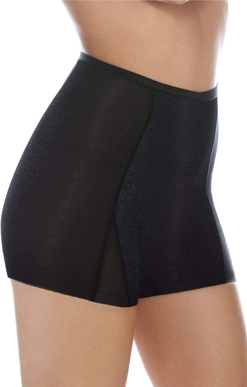 BodyWrap Mid Waist Shorties Light Contouring Mesh Shorts Gentle Contour Women