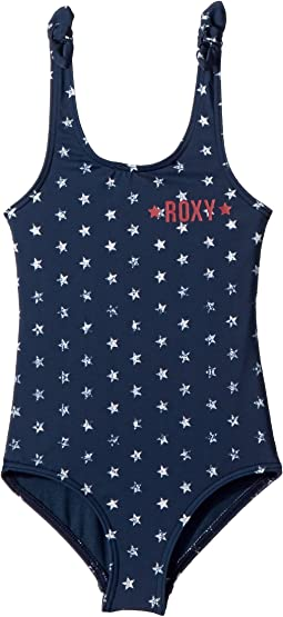 Roxy Kids Surfing USA One-Piece Swimsuit (Toddler/Little Kids)