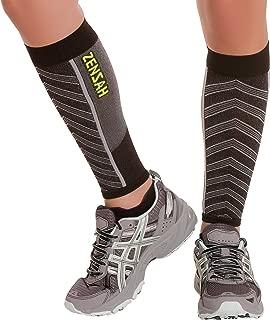 Featherweight Compression Leg Sleeves - Relieve Shin Splints, Calf Strains