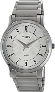 Timex Classics Analog Silver Dial Men's Watch - TI000R41400