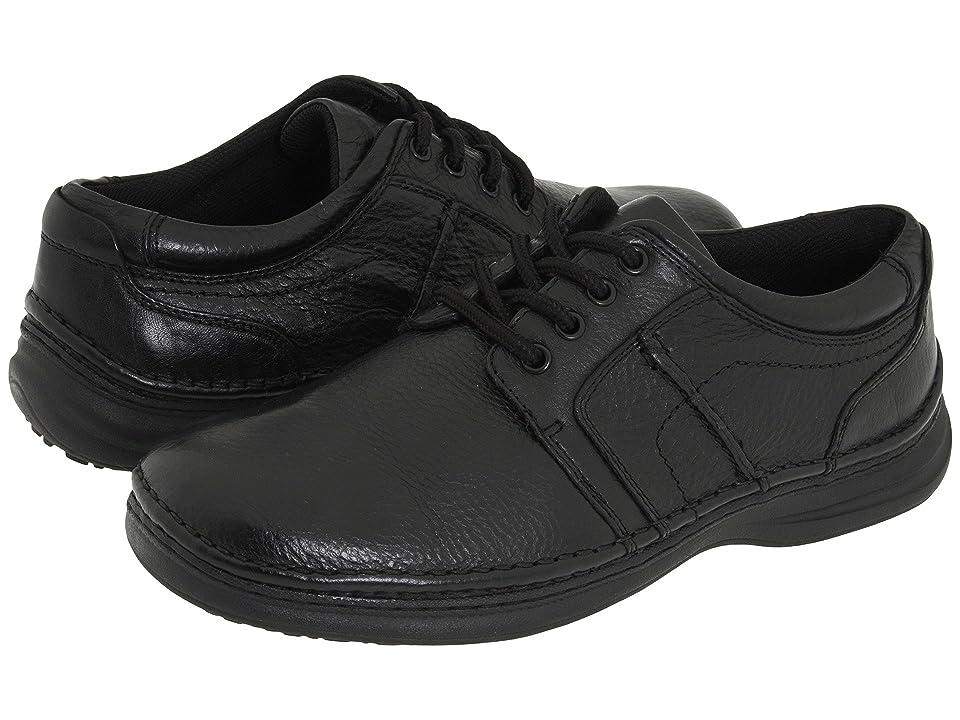 Nunn Bush Vince (Black Tumbled Leather) Men