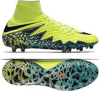 save off a4e5c 5c749 Nike Hypervenom Phantom II FG Volt Black Hyper Turq CLR Jade Shoes - 7.5