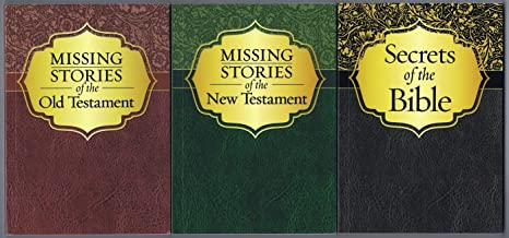 Missing Stories of the Bible, a Three-Volume Set - 'Missing Stories of the Old Testament', 'Missing Stories of the New Testament' and 'Secrets of the Bible'
