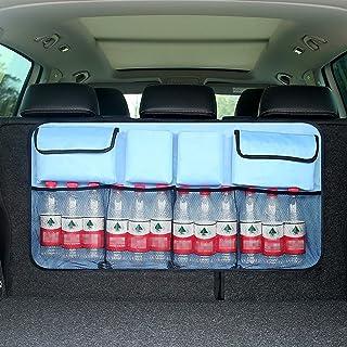 Car Trunk Creative Storage Hanging Bag Storage Bag High Quality (Color : Baby Blue)