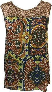LA FEE MARABOUTEE Blusa Donna Senza Maniche MOD FB7359 Made in Italy