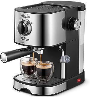 دستگاه اسپرسو ، Yabano 15Bar اسپرسو و کاپوچینو ، با شیر شیر/چوب بخار ، قهوه ساز اسپرسو حرفه ای برای Latte ، کاپوچینو
