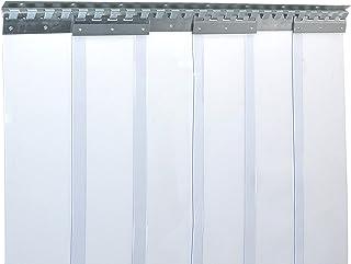 Cortina de fleje de PVC Cortina elástica industrial de 2x20