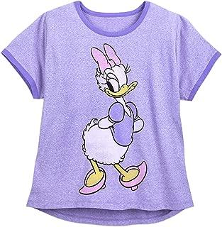 Disney Daisy Duck Ringer T-Shirt for Women - Extended Size Multi