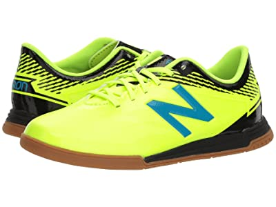 New Balance Kids JSFDIv3 Indoor Soccer (Little Kid/Big Kid) (Hi-Lite/Maldives) Kids Shoes