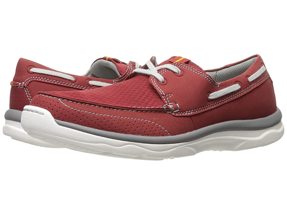 Clarks Marus Edge (Red Synthetic) Men