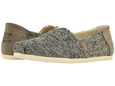 TOMS Venice Collection Alpargata (Birch Technical Knit) Men