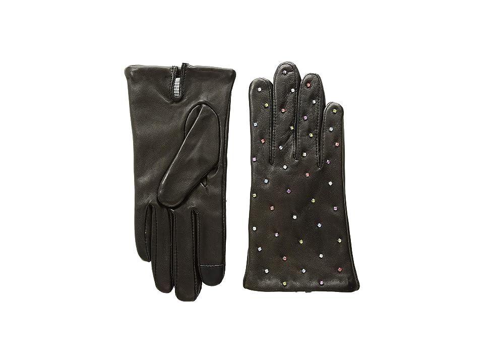 Echo Design Rani Rhinestone Gloves (Black) Extreme Cold Weather Gloves