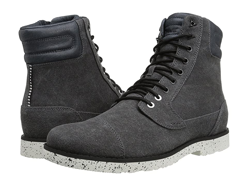 Teva Durban Tall Waxed Canvas (Black) Men