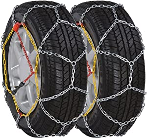 vidaXL Car Snow Chains 12mm Motor KN120 Tyre Vehicle Accessory System Part