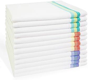 Paquete De 2 toallas blancas saco de harina para la decoración de usted mismo-Aunt Martha/'s 100/%