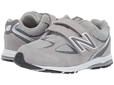 New Balance Kids IO888v2 (Infant/Toddler) (Grey/Grey) Boys Shoes