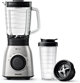 Philips HR3556/00 Blender, 900 W, Noir, Métal