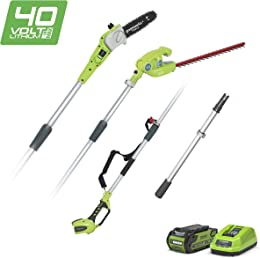Greenworks Coupe-Branche Batterie Et Taille-Haie T