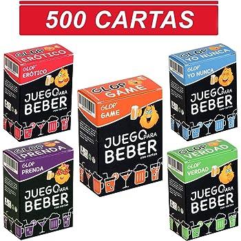 Glop 500 Cartas - Juegos para Beber - Juegos de Cartas para ...