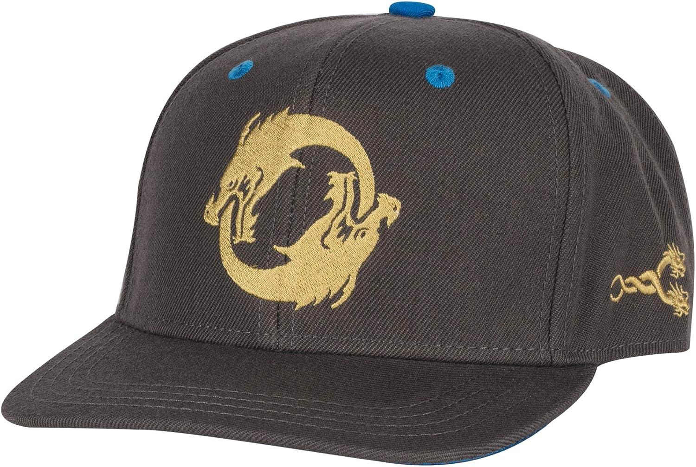 JINX Overwatch Hanzo Dragonstrike Snapback Charcoa Baseball Hat Bombing new National uniform free shipping work