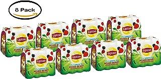 PACK OF 8 - Lipton Diet Green Tea, Mixed Berry, 16.9 Fl Oz, 12 Ct