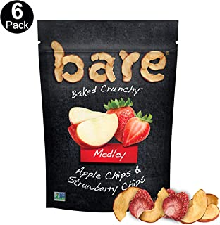 bare Medleys, Apple Strawberry, 1.6 Ounce Bags (6 Pack)