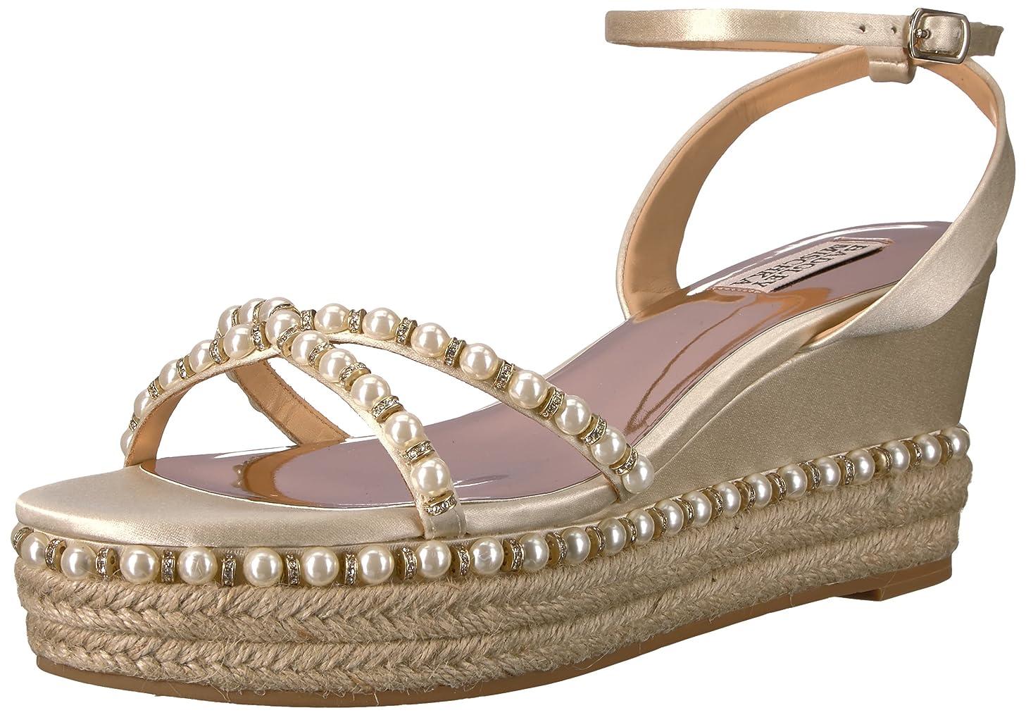 Badgley Mischka Women's Skye Espadrille Wedge Sandal