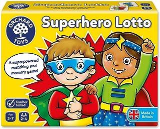 Orchard Toys Superhero Lotto Children`s Game