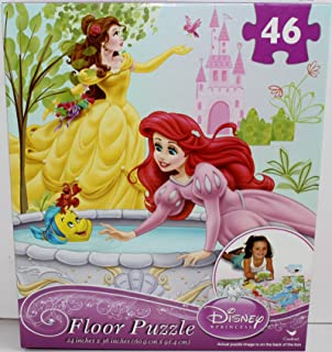 Disney Princess 46 Piece Floor Puzzle