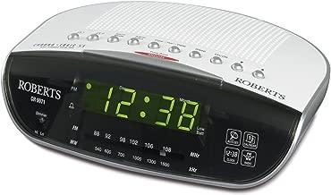 Roberts Radio CR9971 Chronologic Vi Dual Alarm Clock Radio with Instant Time Set