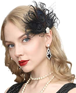 Best gatsby feather hair clip Reviews