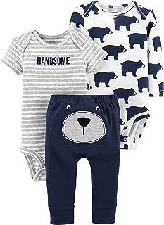 Carter's Baby Little Basics 3-Piece Set Bear Handsome Newborn