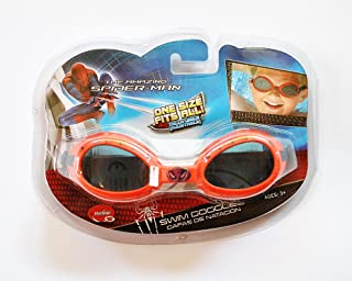 نظارة سباحة مارفل سبايدرمان من اولو، احمر، SM902SP