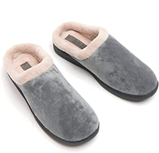 Jo /& Joe VELVET Ladies Womens House Indoor Warm Cosy Velour Mule Slippers Navy