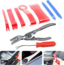 Anyyion Clip Removal Tool 9Pcs Trim Tool for Door Panel Removal Tools or Auto Upholstery Tools or Clip Plier Set