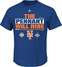 Majestic New York Mets MLB Youth 2015 NLCS The Pennant Will Rise T-Shirt (Youth Large 14/16)
