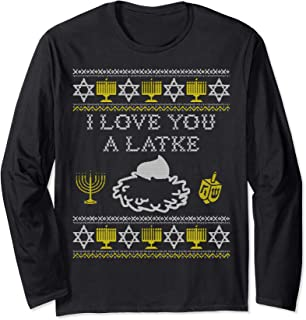 Best i love you a latke shirt Reviews