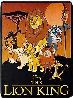 "The Northwest Company Disney Lion King Pride Friends Fleece Super Plush Throw Blanket 46"" x 60"" (117cm x 152cm)"