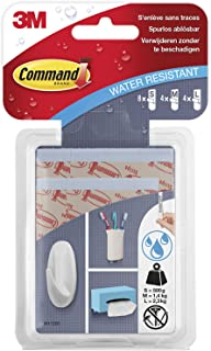 Command W17200hanging strips water-proof set of 8 S stripes, 4M strips and 4L strips