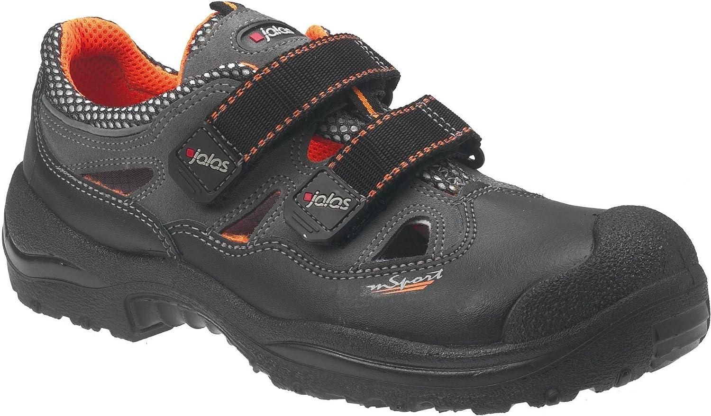 Ejendals 3400A-46 Sandales de sécurité Jalas 3400A Monza Sport  Taille 46 Noir Orange