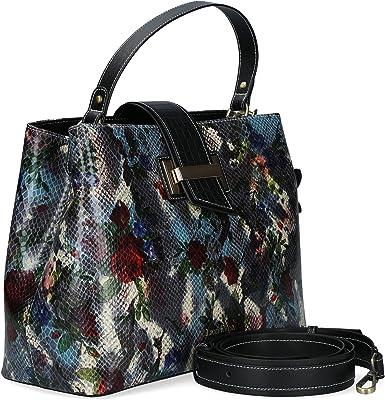 Laura Vita Damen 4551 Handbag, Einheitsgröße