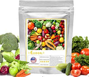 40 Varieties Heirloom Vegetable Seeds, Over 11,000 Non-GMO Seeds Pack, Survival Garden Gift for Planting Lovers, Carrots,Cucumber,Pepper,Tomato Seeds