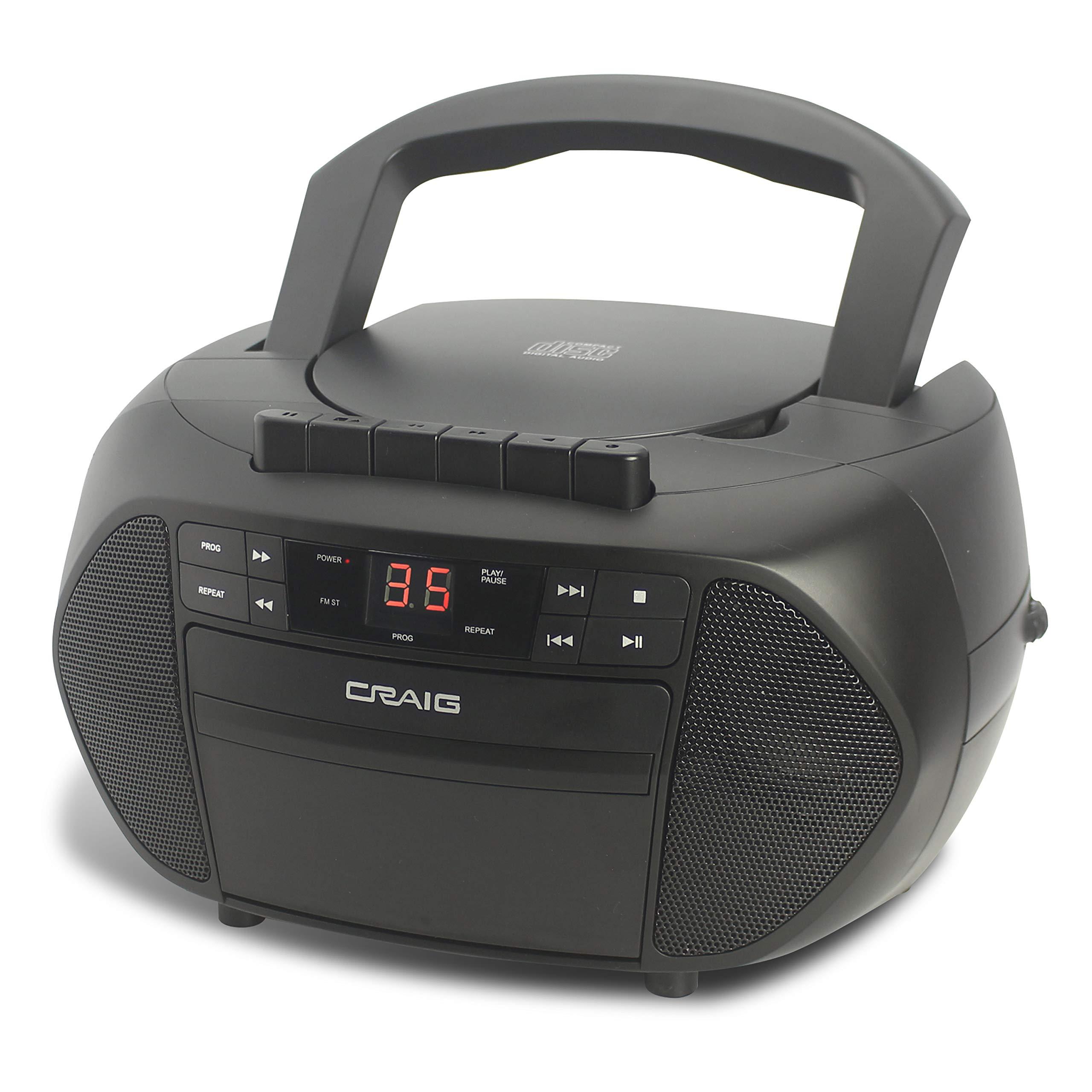 Craig Electronics Boombox Cassette Recorder